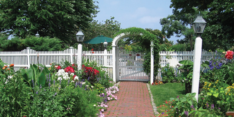 Walk in the beautiful gardens at the Inn