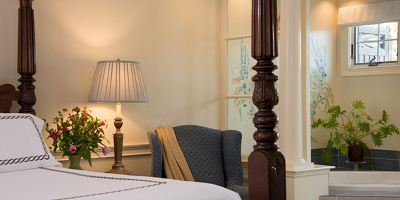 Relax in a luxurious suite