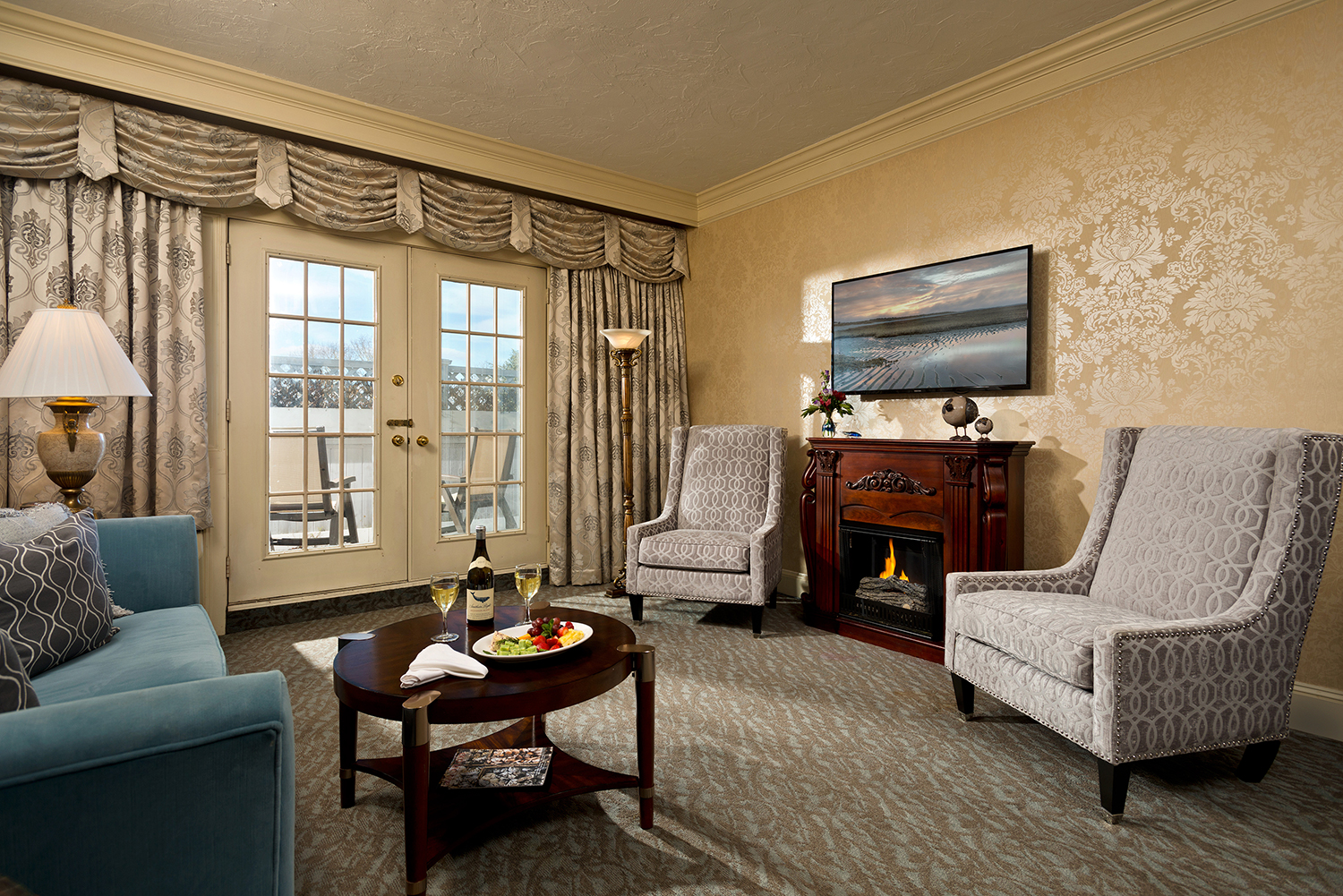 The elegant Webster Suite