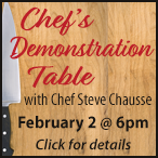 Chef's Demonstration Table
